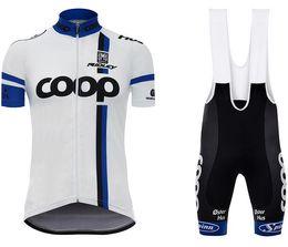 Wholesale Santini Jerseys - Santini Team COOP 2017 Short sleeve Cycling Jersey shorts sets kits Cycling clothing MTB Bike Clothes  Summer Bicycle ciclismo Sportswear