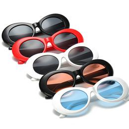 Wholesale Sun Glasses Polaroid - 2017 Vintage NIRVANA Kurt Cobain Sunglasses For Men Women Mirrored Glasses Retro Female Male Sun Glasses UV400 Goggles