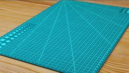 Wholesale Multifunction A3 - Wholesale A3 PVC Self Healing Cutting Mat Multifunction Craft Quilting Grid Lines Printed Board 45*30cm