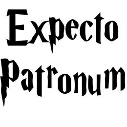 adesivi decalcomanie suv Sconti Belle Classico Lettering Arts Expecto Patronum Harry Potter Car Sticker per Camion Finestra Paraurti SUV Decor Vinyl Decal Jdm