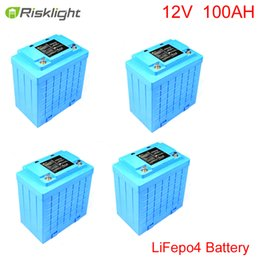 Wholesale Electric Battery For Bike - Deep Cycle Rechargeable 12V 100Ah LiFePO4 Battery Pack for Solar Lights, EV,electric bike