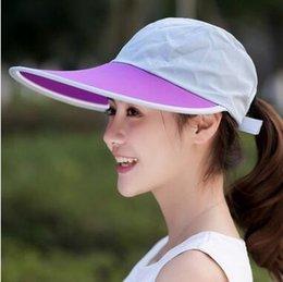 Wholesale Pink Panama Hat - Which in shower Unisex Wide Brim Summer Fishing Hat Hiking Camouflage Bucket Hat Hunting Fisherman Hat Panama Sun Beach Cap