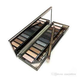 Wholesale Easy N - In stock 2017 N Skok Eye Shadow A New Arrive High Quality HOT Sale Makeup N Smoky Palette 12 Color Eyeshadow Palette Free Shipping KE