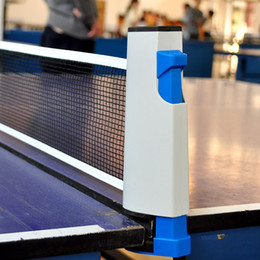 Wholesale Indoor Tennis - Table Tennis Column Retractable Plastic Strong Mesh Portable Kit Net Rack Indoor And Outdoor Grid For Ping Pong Multi purpose 19 8sz F