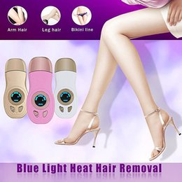 Wholesale Skin Tightening Home Device - Pro Blu-ray Thermal Hair Removal Home Removal for Women & Mens Facial & Bodyhair Magic Blu-ray Thermal Handy Permanent Hair Removal Device
