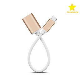 Wholesale Usb Transfer Types - 15CM USB3.0 Type C OTG Data Cable Transfer Charger Adapter Male to Female for Macbook Letv with Retail Package