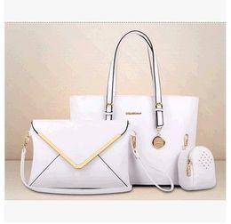 Wholesale Pocket Toothpick - 2016 European and American fashion handbags new three-piece pattern toothpick grain female handbag shoulder bags women's bags