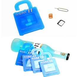Wholesale Iphone 3g Tray - R SIM11 rsim 11 r sim11 unlock card for iphone 7 5 5s 6 6s 7 plus iOS 7 8 9 ios10 CDMA GSM WCDMA SB AU SPRINT 3G 4G