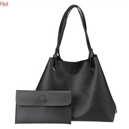 Wholesale Women Work Handbag - Women Shoulder Bag Soft Leather Top Handle Messenger Work Bags Ladies Tassel Tote Casual Korea Handbag Women's Composite Bag Black SVN030856