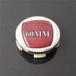 Wholesale Wheel Center Hub Caps Fiat - High Quality 60mm Car Wheel Center Caps Rim Hub Caps Emblem Badge for 500 Uno124 125 695 OT2000 Coupe