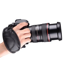 Wholesale hand grip camera - 100% GUARANTEE New Camera Hand Strap Grip Wrist band for Canon EOS 5D Mark II 650D 550D 450D 600D 1100D 6D 7D High Quality