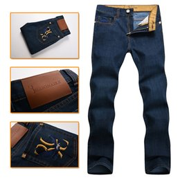 Wholesale Italian Patterns - Wholesale-Billionaire italian couture jean men's 2016 new style 100%cotton comfort casual excellent quality embroidered free shipping