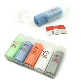 Wholesale Microfiber Sports Towel Camping - Wholesale- Microfiber Ultralight Compact Quick Drying Towel Camping Hiking Swimming Sports Hand Face Towel Outdoor Travel Kits