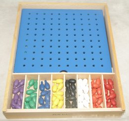 Wholesale Used Baby Toys - Wholesale- New Wooden Box Froebel Integrated Use of Point Baby Educational Toys Baby Gifts
