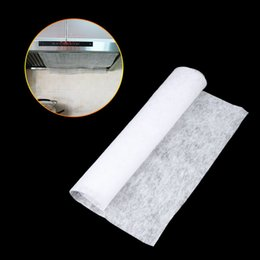 Wholesale Hood Filter Cleaner - Clean Cooking Nonwoven Range Hood Grease Filter Kitchen Supplies Pollution Filter Mesh Paper Oil Filter Paper