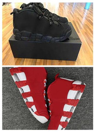 Wholesale Black Varsity - NEW AAA+Quality Air 96 QS Olympic Varsity Maroon Fpr Discount Black Mens Basketball Shoes for Airs 3M Scottie Pippen Sports Sneakers