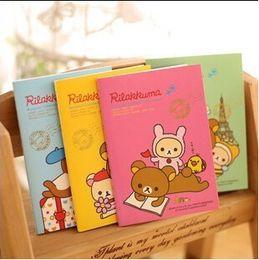Wholesale Notepad Cute - Wholesale- New Fashion Cute Rilakkuma planner   Notebook scratch pads Office & School Supplies