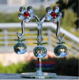 Wholesale Feng Shui Tree - Beautiful Popular Crystal apple tree Decoration Crafts Fortune tree