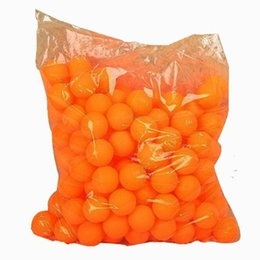 Wholesale Cheap Baby Decorations - Cheap Ping Pong Custom PP Cheap Orange Ping Pong Ball Beer Pong Game Home Decoration Cheap Ping Pongs Baby 40mm Safe Toy Balls