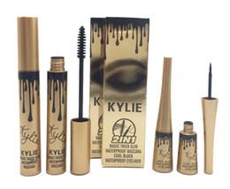 Wholesale Birthday Sets - kylie jenner 2 in 1 mascara set eyeliner birthday edition Black color dhl ship