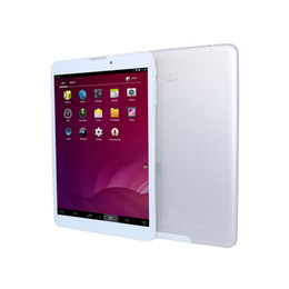 Wholesale Touch Play Tablet - Wholesale- tablet 7.85 inch Quad Core Atom (TM) CPU Z3735G Android 4.4 3200mAh1GB 8GB tablet pc no Google Play add leather case as gift