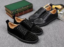 Wholesale making suede - new sole made EU black suede fashion casual shoes,men women unisex leisure trainer footwear 36-46
