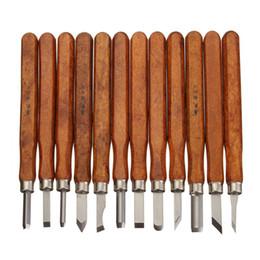 Utensili per la lavorazione del legno online-12Pcs Set di strumenti per la lavorazione del legno Set di strumenti per la lavorazione del legno