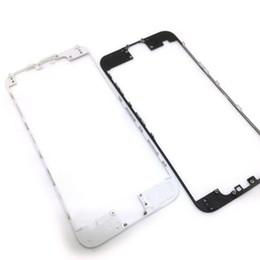Canada En gros LCD Front Cadre Titulaire Moyen Moyen Cadre Support Avec de la Colle Chaude Pour iPhone 4G 4S 5S 5g 5c 6 4.7