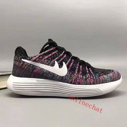 Wholesale Cheap Mens Sneakers Online - Wholesale Cheap Unisex LunarEpic Low Knit 2 Sneakers Mens Women Running Shoes Sale Online Size EUR 36-45 Free Shipping