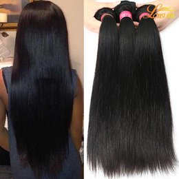 Wholesale 18 Inch Virgin Remy Hair - Brazilian Virgin Hair Extension 3 4 5 Bundles Brazilian Peruvian Indian Straight Weave Remy Hair Wholesale Unprocessed Brazilian Human Hair