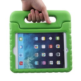 Wholesale Eva Cover Stand For Ipad - For iPad new 2017 3D Cute Portable Kids Safe Foam Shock Proof EVA Case Handle Cover Stand for iPad mini 234 2 3 4 Air 5 6 Pro