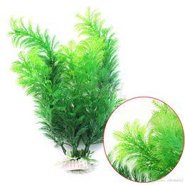 Wholesale Underwater Plants - NEW Simulation aquatic plants Submarine Ornament Artificial Green Underwater Plant Fish Tank Aquarium Decor
