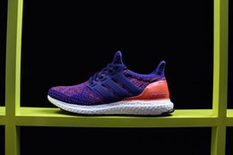 Wholesale Run Nyc - 2017 Ultra Boost 3.0 NYC Mens Running Shoes Primeknit Hypebeast Ultra Boost 3.0 high quality sports shoes outdoor Sneakers eur 40-45