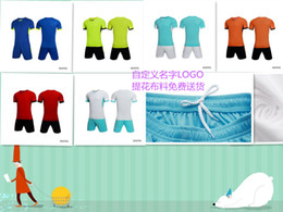 Wholesale badminton uniforms - Wholesale!16 17 plain soccer training kits,soccer set, soccer uniforms with customized name,number,sponsor logo,team logo