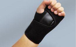 verriegelnder handgelenkstahl Rabatt 1 PC / Lot Einstellbare Stahl Verriegelung Handgelenk Gelenke Unterstützt Reifen Frakturen Handgelenk Verstauchungen Hände Maus Handgelenk Gesundheitswesen Gürtel