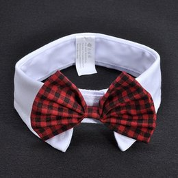 Wholesale Wholesale Plastic Bow Supplies - Small Dog Grooming Bow Tie Collar Puppy Accessories Yorkie puppy Bowtie Supplies