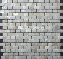 Wholesale Special offer Shell Mosaic Tiles Natural Mother of Pearl Tiles kitchen backsplash tiles bathroom wall flooring tiles