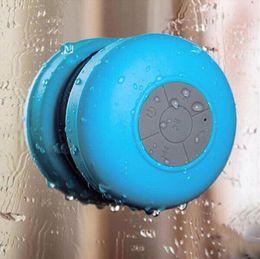 Wholesale Super Sucker - Bluetooth mini speaker waterproof BTS06 portable speakers bluetooth IPX4 Wireless subwoofer Shower Handsfree sucker MP3 Super Bass