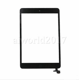 Wholesale Ipad Mini Touch Panel - 100% New Touch Screen Glass Panel with Digitizer with ic Connector Buttons for iPad Mini 2