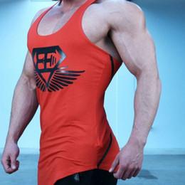 Wholesale Galaxy Tanks - Men's Aerobics Self-cultivation Male Summer Motion Vest Sweat Ventilation gasp mens gymshark gym tank tops galaxy tanks men sexy