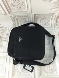 Wholesale patent shopping bag - Wholesale popular brand men bags new brand Mr. Messenger bag patent leather shoulder bag men's shopping bag
