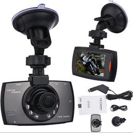 Gravador de dados de viagem de veículo on-line-G30 HD 1080 P Câmera Do Carro DVR Carro Novatek 96220 Veículo Data de Viagem Gravador de Visão Noturna Tacógrafo 2.7 polegada LCD