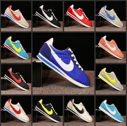 Wholesale Free Close - Selling! 2017 classic yin and yang men and women spring fall casual shoes racing shoes Cortez shoes casual net shoe size 36-48 free shipping
