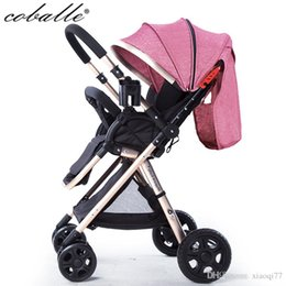 Wholesale Two Way Stroller - Free delivery of high landscape lights, can be two-way baby stroller 8 gift cheap baby carriage