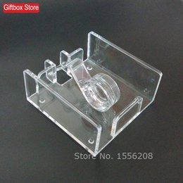 plastic acrylic sheets Coupons - Wholesale- Modern Style Acrylic Napkin Box Tissue Holder 16*16cm Tissue Sheet Paper Rack Wedding Party Supplies Free Shipping