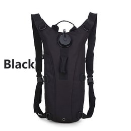 Wholesale Mountain Camping Hiking Backpack Bag - 3L Outdoor Sports Mountain Hiking Backpacks Tactical Hydration Water Bag Climbing Backpack Pouch with Bladder 9 Colors