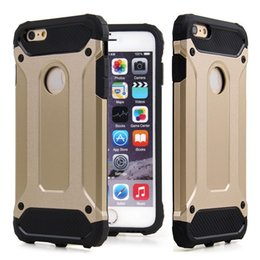 Wholesale Hot Sell Iphone - hot selling 2 in 1 TPU with PC shockproof waterproof case cover for iphone 4 5 6 6 iphone 7 plus galaxy S5 s6 edge s7 s7 edge plus note 5 7