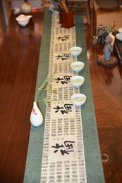 Wholesale Tea Table Cloths - The new Chinese classical modern tea cloth fashion minimalist atmosphere of elegance and luxury tea table decorations