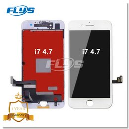 Wholesale Iphone Glass For 3d - Quality Grade AAA+++ LCD Display For iPhone 7 LCD Screen Touch Glass Screen Digitizer with 3D touch Full Assembly Replacement DHL Free