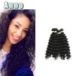 Wholesale Virgin Curly Hair Grade 6a - Wowigs Virgin Hair Deep Wave Hair Bundles 4 Piece Lot 6a Grade Brazillian Deep Wave Curly Queen Love Ofertas Del Dia Nice